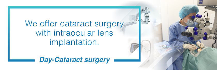 Day-Cataract surgery