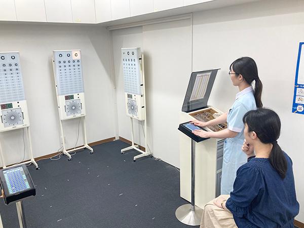 矯正視力検査