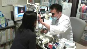 前眼部検査