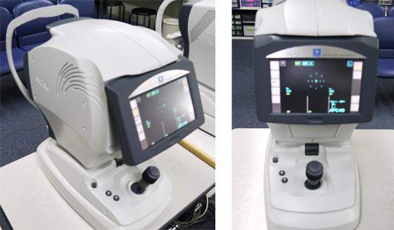 眼圧検査(非接触式眼圧測定)